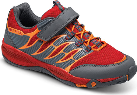 メレル Merrell Allout Fuse A C - Red Orange Synthetic Mesh 子供 キッズ シューズ 靴