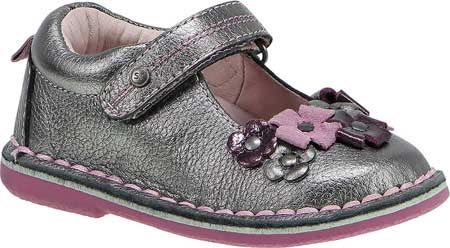 ストライドライト Stride Rite Medallion Collection Kenway - Pewter Pink Purple Leather 子供 キッズ シューズ 靴