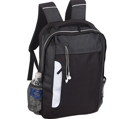 Preferred Nation P3643 Scan Express Comp Backpack - Black バッグ 鞄 かばん バックパック リュックサック