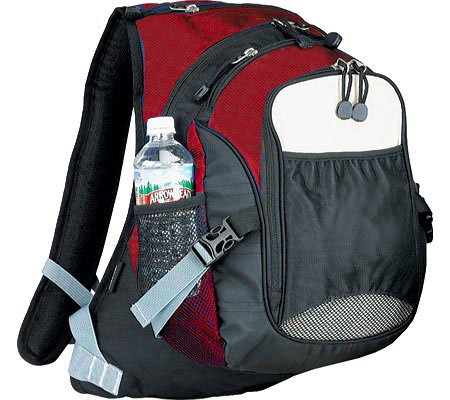 Preferred Nation 3639 Thrill Seeker Computer Backpack - Red Black バッグ 鞄 かばん バックパック リュックサック