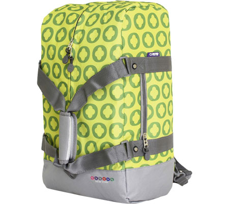 JWorld New York Duncan 19 Three-Way Weekender - Lime Logo バッグ 鞄 かばん