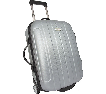 トラベラーズチョイス Travelers Choice Rome 20 Hard Shell Carry On Upright - Silver バッグ 鞄 かばん