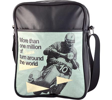 ベスパ Vespa Shoulder Bag - Black More Than バッグ 鞄 かばん