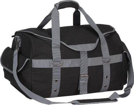 Preferred Nation P4688 Expresso Canvas Duffle - Black バッグ 鞄 かばん