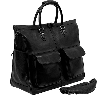 ドクターコッファー Dr. Koffer Keats Travel Bag D01202 - Black Venetian Leather バッグ 鞄 かばん