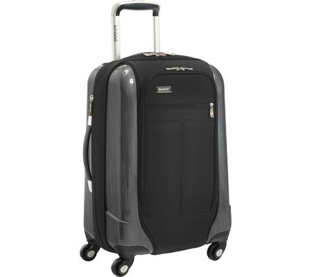 Ricardo Beverly Hills Crystal City 20 Expandable Spinner Carry-On - Black バッグ 鞄 かばん