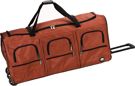 Rockland 40 Rolling Duffle - Red バッグ 鞄 かばん