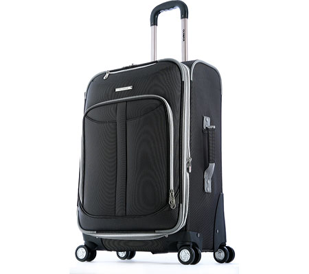 オリンピア Olympia Tuscany 30 Expandable Super Rolling Case - Black バッグ 鞄 かばん