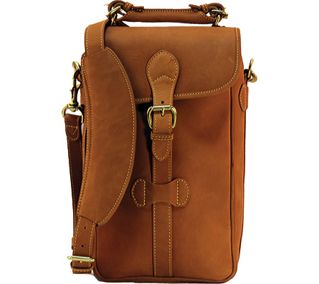 マルホランド Mulholland 2 Bottle Wine Carrier Leather - All Leather Lariat バッグ 鞄 かばん