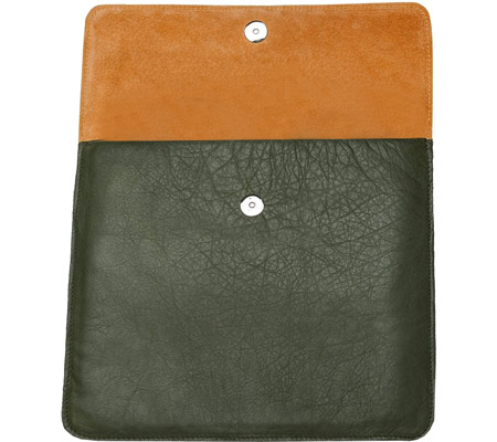 E64ST Westside Envelope - Leather - Olive Leather Orange バッグ 鞄 かばん