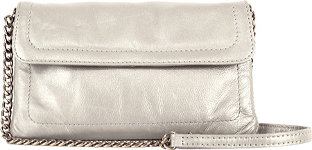 ラチコ Latico Harlow Cross Body 7816 - Metallic White Leather バッグ 鞄 かばん