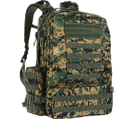 Red Rock Outdoor Gear Diplomat Backpack - Woodland Digital バッグ 鞄 かばん スポーツバッグ
