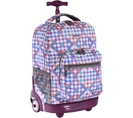 JWorld New York Sunrise 18 Rolling Backpack - Checkmate バッグ 鞄 かばん バックパック リュックサック
