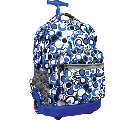 JWorld New York Sunrise 18 Rolling Backpack - Chess Blue バッグ 鞄 かばん バックパック リュックサック