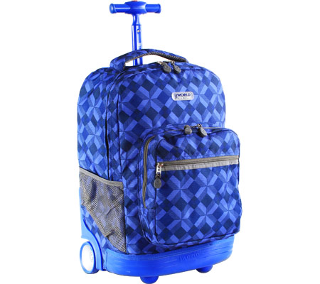 JWorld New York Sunrise 18 Rolling Backpack - Ostro バッグ 鞄 かばん バックパック リュックサック
