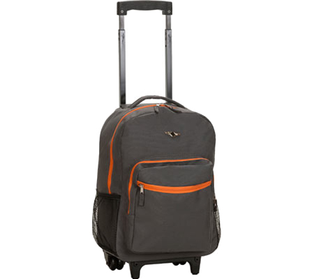 Rockland 17 Rolling Backpack R01 - Charcoal バッグ 鞄 かばん バックパック リュックサック