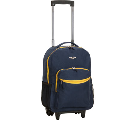 Rockland 17 Rolling Backpack R01 - Navy バッグ 鞄 かばん バックパック リュックサック