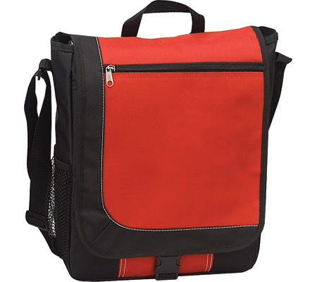Preferred Nation P4309 Flapover Computer Case - Red バッグ 鞄 かばん