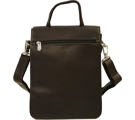 ピエルレザー Piel Leather Double Flap-Over Shoulder Bag 2899 - Chocolate Leather バッグ 鞄 かばん