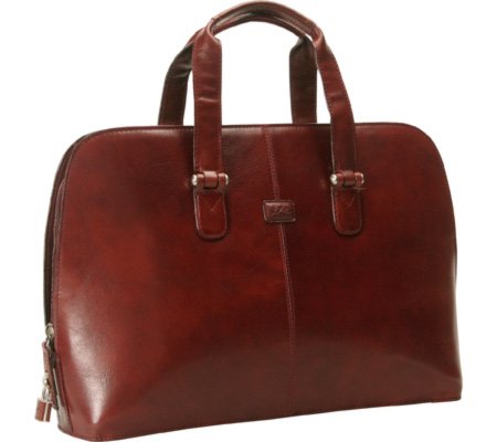 トニー ペロッティ Tony Perotti Classic Zip Around Laptop Bag - Cognac バッグ 鞄 かばん