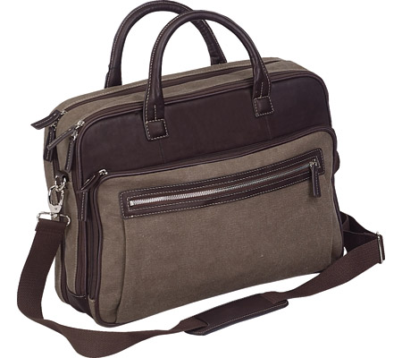 Preferred Nation P6525 The Autumn Scan Express Compucase - Brown バッグ 鞄 かばん