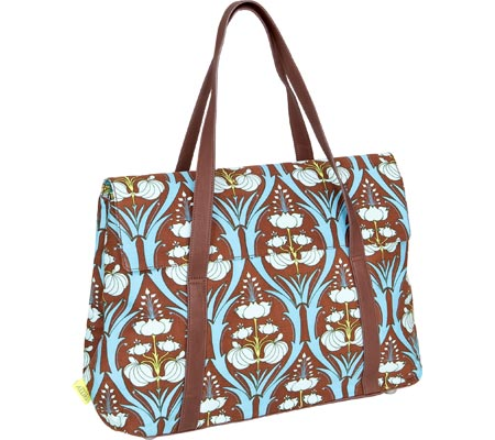 Amy Butler Harmony Laptop Bag - Passion Lily Turquoise バッグ 鞄 かばん