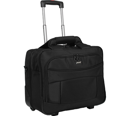 JWorld New York Sheffield Laptop Rolling Briefcase - Black バッグ 鞄 かばん