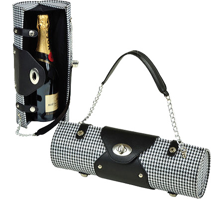 Picnic at Ascot Wine Carrier Purse - Houndstooth バッグ 鞄 かばん ハンドバッグ