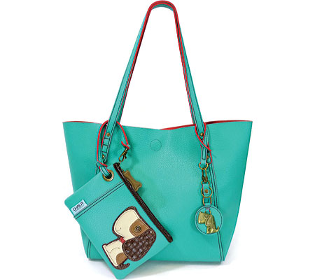 Chala Toffy Dog 3-in-1 EZ Tote - Teal バッグ 鞄 かばん ハンドバッグ