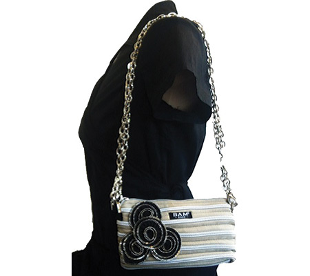 BAM BAGS Lily Bag - Sand Silver バッグ 鞄 かばん ハンドバッグ