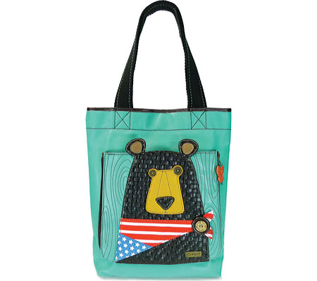 Chala Black Bear Deluxe Everyday Tote - Teal バッグ 鞄 かばん ハンドバッグ