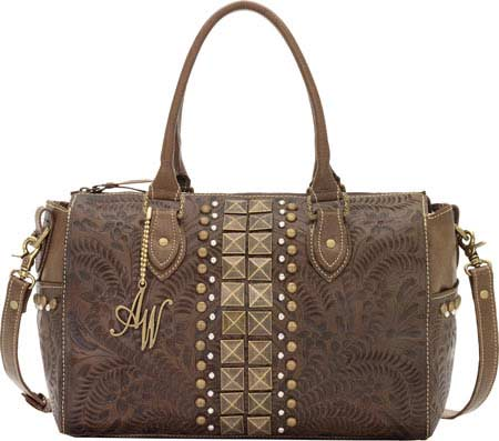 American West High Noon Convertible Satchel - Earth Brown バッグ 鞄 かばん ハンドバッグ