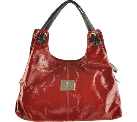 John Cole Collections Karen - Red Patent バッグ 鞄 かばん ハンドバッグ