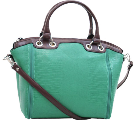 Dasein Tote Bag 2456-101455 - Mint Green Coffee バッグ 鞄 かばん ハンドバッグ