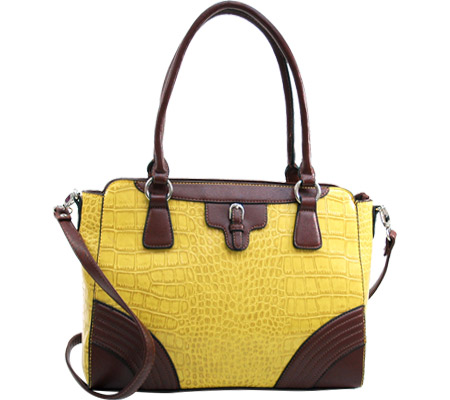 Dasein Shoulder Bag 310676 2484-310676 - Yellow Coffee バッグ 鞄 かばん ハンドバッグ