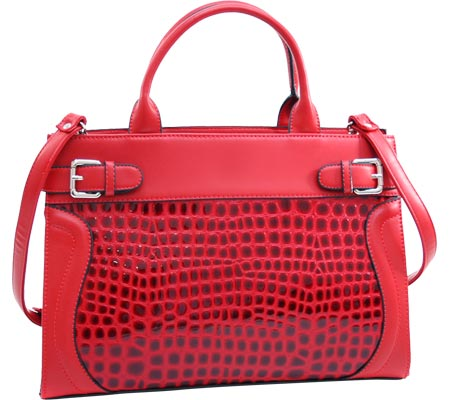 Dasein Chic Tote 2237-172048 - Red バッグ 鞄 かばん ハンドバッグ
