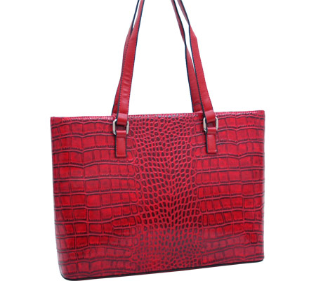 Dasein Fashion Tote Bag 2484-4875 - Red バッグ 鞄 かばん ハンドバッグ
