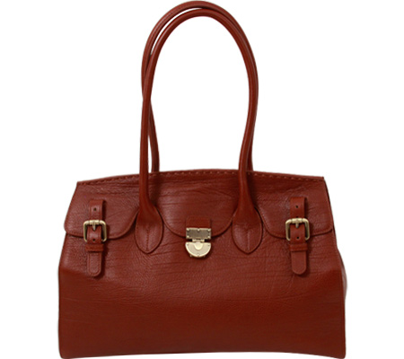 PAVA Leather Tote GD3551 - Cognac Brown バッグ 鞄 かばん ハンドバッグ