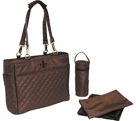 Kalencom NOrleans Tote - Quilted Chocolate Chocolate Stitching バッグ 鞄 かばん ハンドバッグ