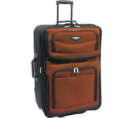 トラベラーズチョイス Travelers Choice Amsterdam 29 Expandable Rolling Upright - Orange バッグ 鞄 かばん