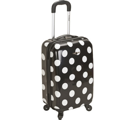 Rockland 20 Polycarbonate Carry On F208 - Black Dot バッグ 鞄 かばん