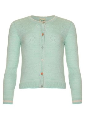 Yumi Girls Cardigan - mint/子供/キッズ