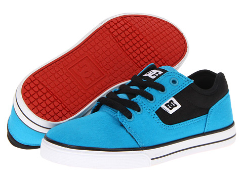 DC Kids Bristol Canvas (Little Kid Big Kid) Turquoise Black 子供 男の子 シューズ 靴 スニーカー