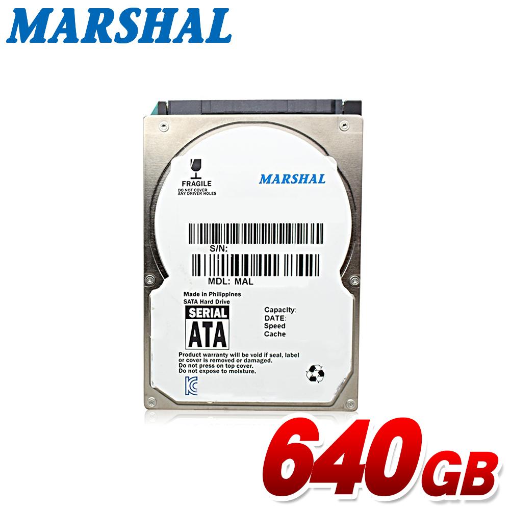 送料無料 あす楽 2.5型 内蔵hdd ノートパソコン用 交換用 換装用 MARSHAL 2.5インチ ハイクオリティ 薄型 640GB 内蔵ハードディスク MAL2640SA-T54L SATA バルク品 スリム 7mm 5400rpm 最新号掲載アイテム