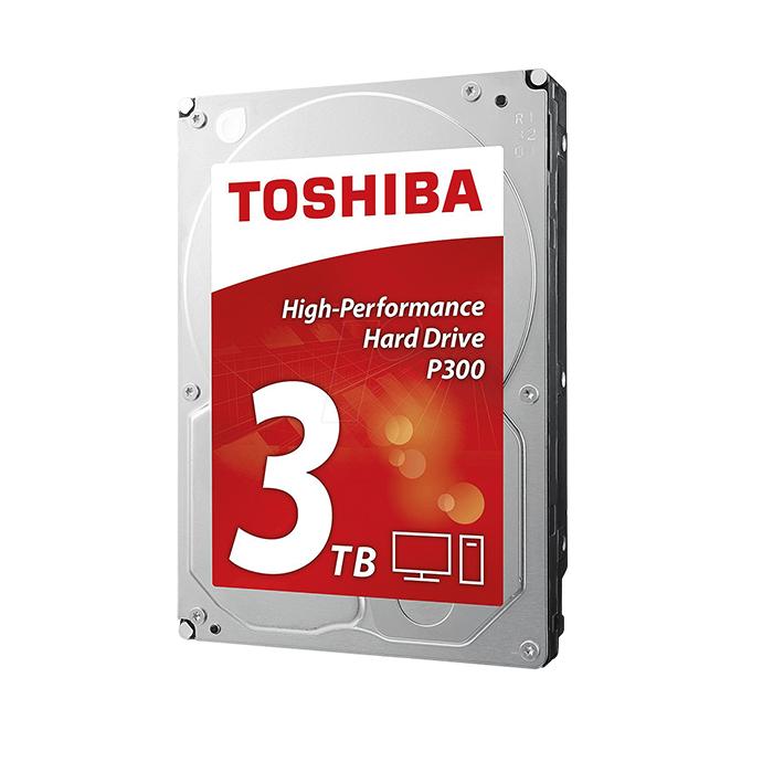 東芝 3.5インチ 内蔵ハードディスク 3TB SATA 64MB 7200rpm TOSHIBA P300 HDWD130UZSVA High-Performance 内蔵hdd