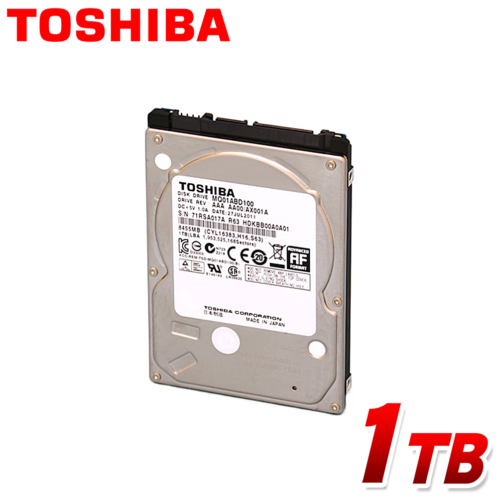 Toshiba MQ01ABD050-2.5inch 500GB 5400RPM 9.5mm 4k block size 8MB Cache