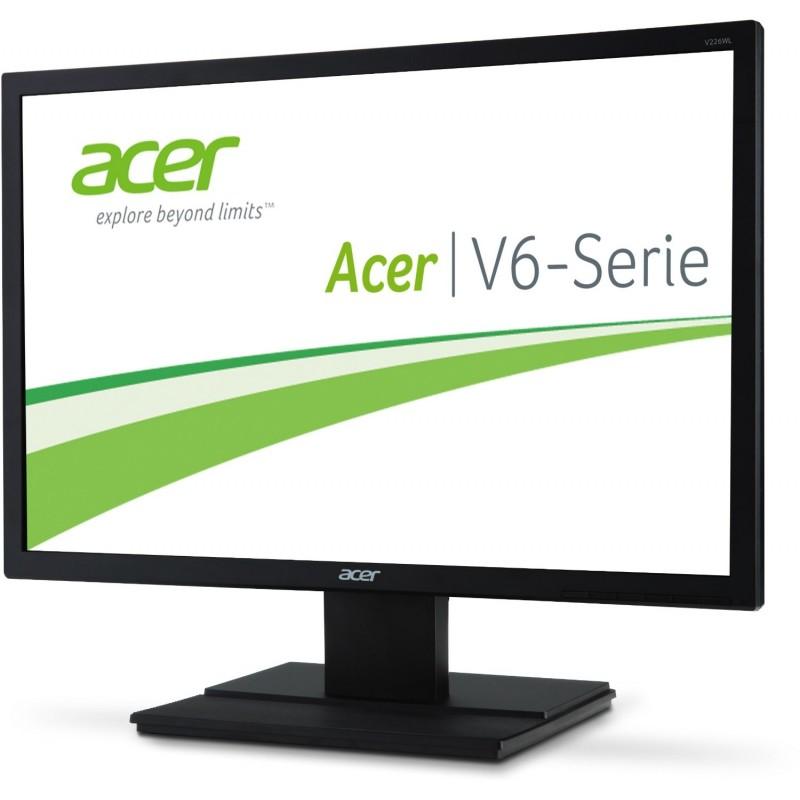 モニター 中古 ACER 23インチ ワイド フルHD 1920x1080 ノングレア スピーカー搭載 HDCP チルト機能 D-Subx1 DVIx1 白色LEDバックライト ブラック V236HLbmd