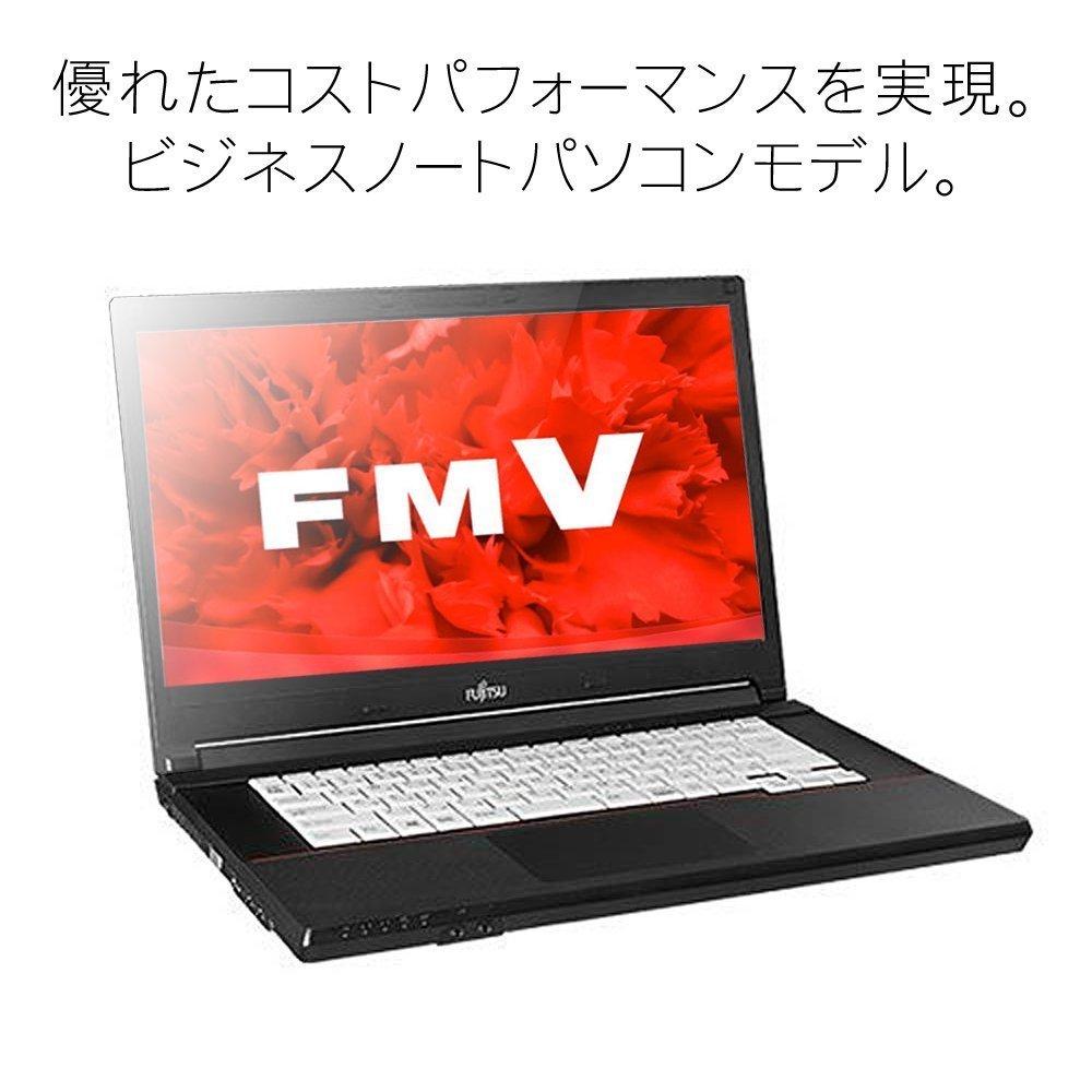 ノートパソコン office付き 新品 同様 訳あり 富士通 fujitsu FMV LIFEBOOK A576/P アウトレット Core i5-7200U Windows10 500GB(HDD) 2GB 15.6インチ 1366×768 DVD ドライブ 無線LAN マウス FMVA16001