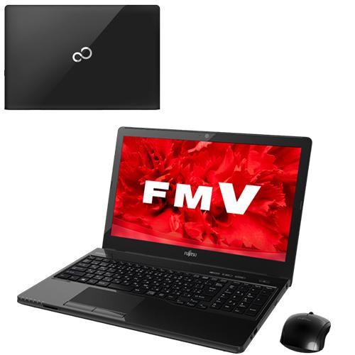 富士通 FMV LIFEBOOK AH53 UFMVA53UB ブラック WPS Office15.6インチ Win8.1 Core i7 1TB 8GB BD 送别会 夏祭り お年始 七五三 お年賀 卒業祝