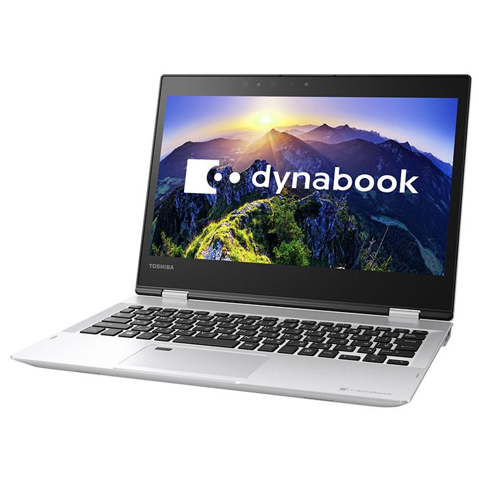 ノートパソコン Office付き 新品 同様 訳あり 東芝 TOSHIBA dynabook V62/FS 2in1 コンバーチブル Core i3 7130U Windows10 SSD 256GB 4GB 12.5インチ フルHD Microsoft Office付属 PV62FSP-NEA